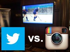 Which social network widget should you use on your digital signage big screen? Instagram or Twitter? That depends if the dominant element shall be text or images. On second thought, doesn't it?