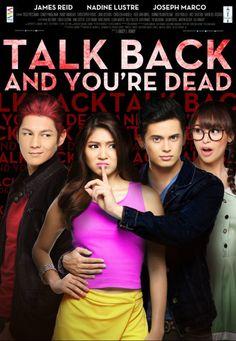 [Philippines Movie] Talk Back and You're Dead James Reid, Nadine Lustre, Movies 2014, Top Movies, Movies Free, Joseph Marco, Filipino, Viva Film, Dramas