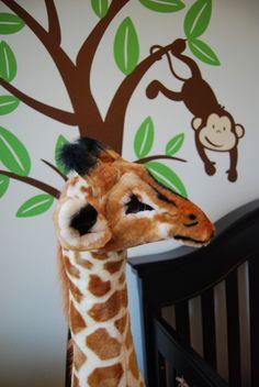 Nursery rule #1 - Must have a huge giraffe in it