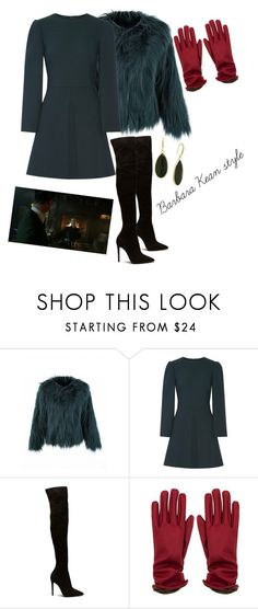 """""""Barbara Kean style"""" by tanitakean ❤ liked on Polyvore featuring Dolce&Gabbana"""