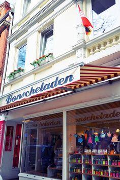 Bonscheladen, Hamburg Ottensen Friedensallee 12 Tel.: 040/415 475 67 Öffnungszeiten: Di - Fr 11 - 18.30 h  Sa 11 - 16 h  Mo geschlossen Hamburg Germany, City, Beautiful, Restaurants, Shops, Action, Travel, Hamburg, Europe