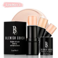Loumesi Shimmer Stick Make up Bronzer 3 Color Brighten Glowing Concealer Bronzer and Highlighter Nude Sexy Matte Makeup For Face Shimmer Stick