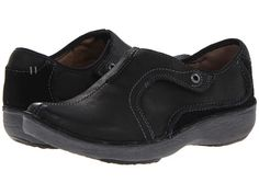 Clarks Wave.Route Black Leather - Zappos.com Free Shipping BOTH Ways