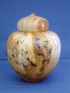 Beautiful hand carved ginger jar.