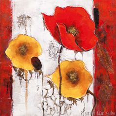New Life Collection - Colourful Poppy II