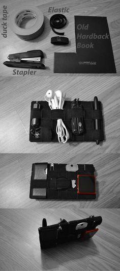 Cool DIY EDC Item http://www.edcforums.com/threads/i-made-my-dream-edc-pocket-organizer-for-2-50-how-to.103885/