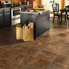 Groutable Luxury Vinyl Tile Flooring. Mannington Adura- Style Dynasty 16x16 LVT