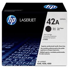 Muc In Hp 42A Black Laserjet Toner Cartridge , Mực in HP 42A Black LaserJet Toner Cartridge
