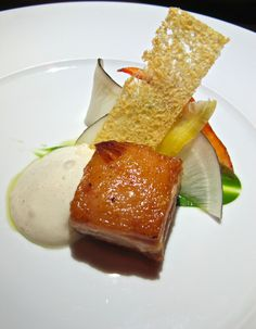 Curtis Stone's new Beverly Hills restaurant Maude's pork belly