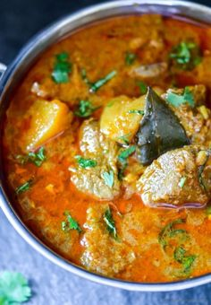 Indian Kashmiri Lamb Rogan Josh | chefdehome.com