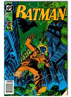 DC-Comics BATMAN #485 - Faces of Death (1992)