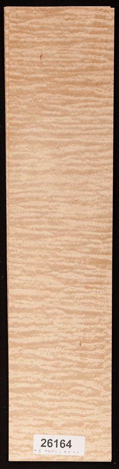 "5 Sheets 24"" X 9.5"" Walnut Wood Veneer 7.5 Sq Ft"