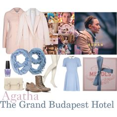 """Agatha (Saoirse Ronan) from Wes Anderson's """"The Grand Budapest Hotel Wes Anderson, Jessa Girls, The Royal Tenenbaums, Grand Budapest Hotel, Build A Wardrobe, Casual Cosplay, Impreza, Hotel Wedding, Costume Design"""