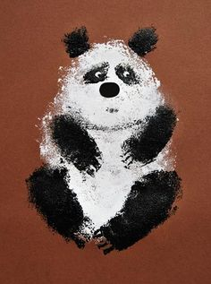 panda Painting For Kids, Art For Kids, Crafts For Kids, Arts And Crafts, Animal Projects, Art Projects, Flowers Wallpaper, Poster Photo, Kindergarten Art Lessons