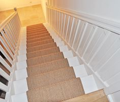 Webwinkel - Traploper sisal goliplast - 37590067 - Traplopershop Sisal, Stairs Covering, Carpet Staircase, Basement House, Home On The Range, Duplex, Next At Home, Stairways, New Homes