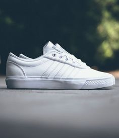 pretty nice e319e 712dd adidas Adi-Ease Leather White Adidas Fashion, Fashion Shoes, Nike Shoes  Outlet
