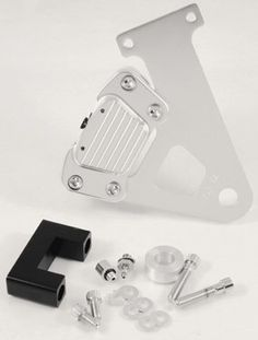 Clear Anodized Caliper Kit Fits FXR 1985/1999-by-GMA by BDL These custom Rear 2 Piston Calipers with hanger brackets and complete hardware kits are designed to replace old, worn-out calipers and brackets.. Calipers are machined from billet aluminum, clear anodized and feature dual pistons for the best braking possible.. The hanger brackets are blanchard ground to specifications and carefully machined.. Kits fit applications listed below.. Note: A 5/8 inch bore master cylinder must be used…