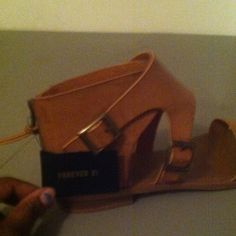 Never wore to small for me Brand new Forever 21 Shoes Sandals