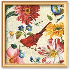 Art.com Rainbow Garden III Framed Art Print By Lisa Audit ($65) ❤ liked on Polyvore featuring home, home decor, wall art, multicolor, flower stem, framed flower wall art, wood home decor, wood wall art and vertical wall art