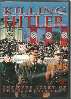 Killing Hitler: True Story Of The Valkyrie Plot (DVD, 2009)--By way of extensive research, archival footage, and interviews with World War II historians, this documentary brings to life the plot that could have changed world politics forever. While Hitler's reign of terror almost brought the world to its knees and caused unimaginable atrocities, a few brave men on the inside of the Nazi government plotted to take him down. Their story is one of conspiracy, hope, and, ultimately, failure.