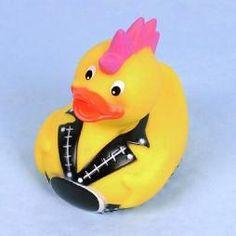 Punk rubber duck