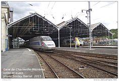 Gare de Charleville-Mézières, voies et quais , Département des Ardennes  -  une…