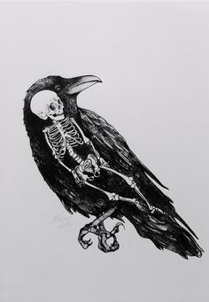 Erica Ellys (Sweden)- Raven And A Child's Corpse, 2013