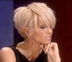 Short hair cuts for females - New Hair Styles ideas Girls Short Haircuts, Popular Short Hairstyles, Pretty Hairstyles, Bob Hairstyles, Short Choppy Hairstyles, Short Blonde Haircuts, Edgy Haircuts, Hairstyle Ideas, Hairstyle Short Hair