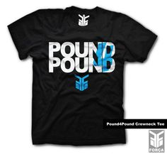 $25.99 #Pound4Pound Crewneck Tee by Força Clothing Co.