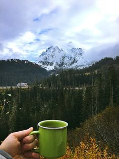 Coffee with a view