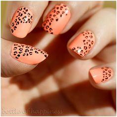 bottle of happiness #nail #nails #nailart