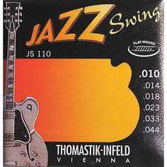 Thomastik JS110 Flatwound Extra Light Jazz Swing Guitar Strings