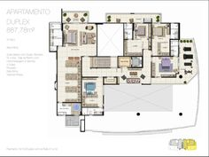 Teresina 275 - Duplex 883m² - Manaus - Engeco