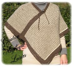 Poncho. Knitting poncho