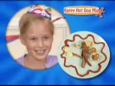 Happy Hot Dog Man Commercial - As Seen On TV    If you don't have one of these, what are you waiting for? It's like a toy you can eat! You can decorate them in clothes and everything! It's so easy to use - kids can do it! (really?)