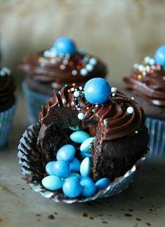 Confetti cupcakes~