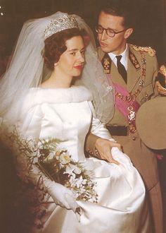 Queen Fabiola of Belgium: The Nine Provinces Tiara