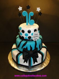 sweet sixteen cakes | Sweet 16! | Cakes and Cupcakes