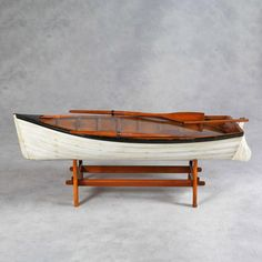 Boat Coffee Tables | Row Boat Coffee Table Hand Crafted Wooden Nautical In  Mid City, Los ... | Home Decor | Pinterest | Tables