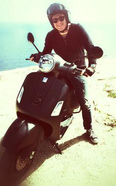 vespa 300 gts notte a Formentera Vespa 300, Motorcycle, Bike, Vehicles, Black, Bicycle, Black People, Motorcycles, Bicycles