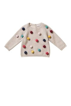 Il Gufo: Clothing for children and newborns - Il Gufo Knit Fashion, Girl Fashion, Beige Jumpers, Warm Sweaters, Kid Styles, My Baby Girl, Baby Knitting, Boy Outfits, Toddler Girl