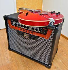 Roland GA-112 + Kasuga ES-335 copy