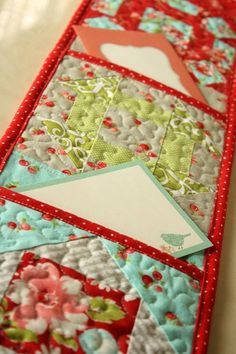 Why Not Sew?: Tutorials Quilted Letter Holder