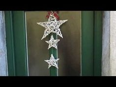 stelle con le cannucce - YouTube Felt Christmas Ornaments, Christmas Decorations, Paper Weaving, Newspaper Crafts, Paper Basket, Homemade Christmas, Paper Art, Origami, Diy And Crafts