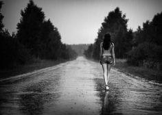 Raining Woman (b&w), by Evgenij Frolov on 500px.com
