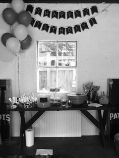 #vintage #chalkboard theme birthday #party