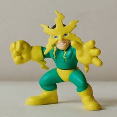 S45 Marvel Spider MAN Super Hero Squad Electro Figure | eBay