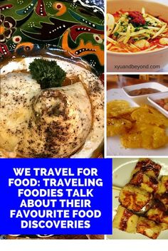 "#Travelingforfood is a key theme in many travel blogs and most travelers are #foodiesonthe hunt for new# internationalfoodfavourites.  A favourite saying is #Itravelforfood"" and compiling lists of their favourite #worldfoods keeps many #travelers drooling"