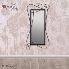 Espejos de forja virginiart.es  Muebles originales y espejos de forja modernos fabricados de forma artesanal y bajo pedido. Consúltanos por medidas y acabados.