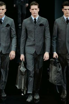 Giorgio Armani Menswear Fall Winter 2014 Milan